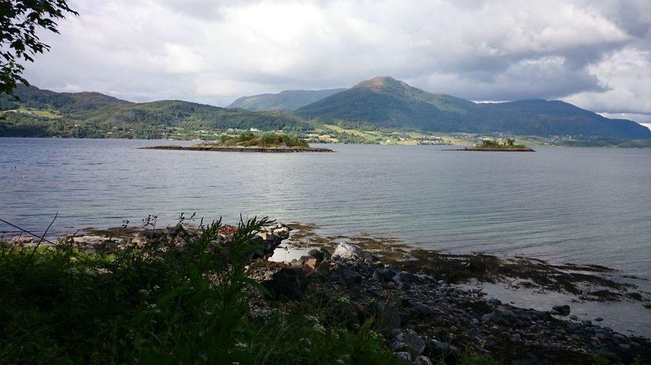 Fjord Eide På Nordmøre Summer ☀ Norway