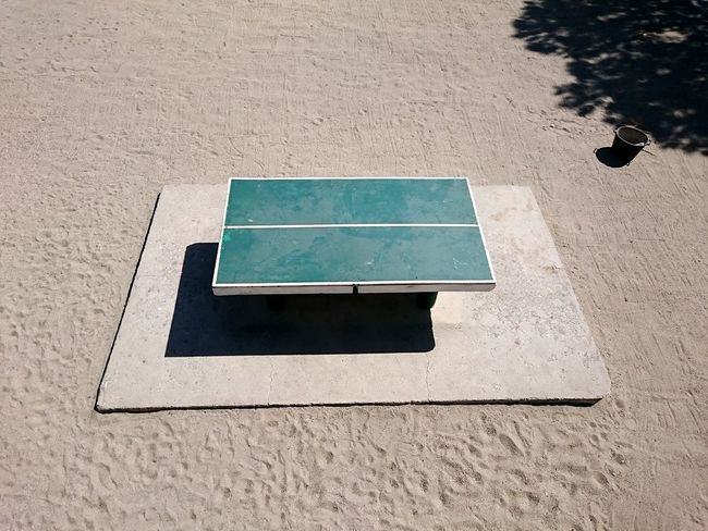 Table Ping Pong Green Sand Shadows