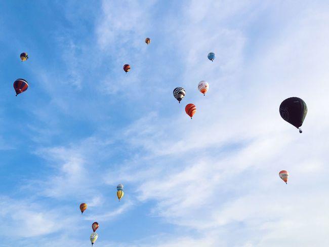 Balloons Galore! EyeEm Best Shots Clouds Hot Air Balloons Balloons Dubai