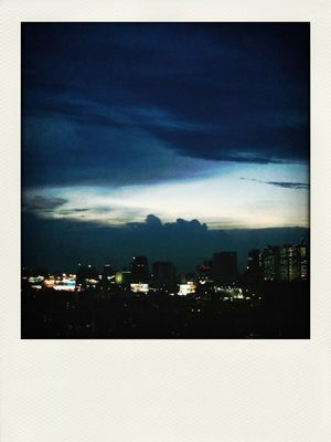 clouds in Bangkok by Parnbua