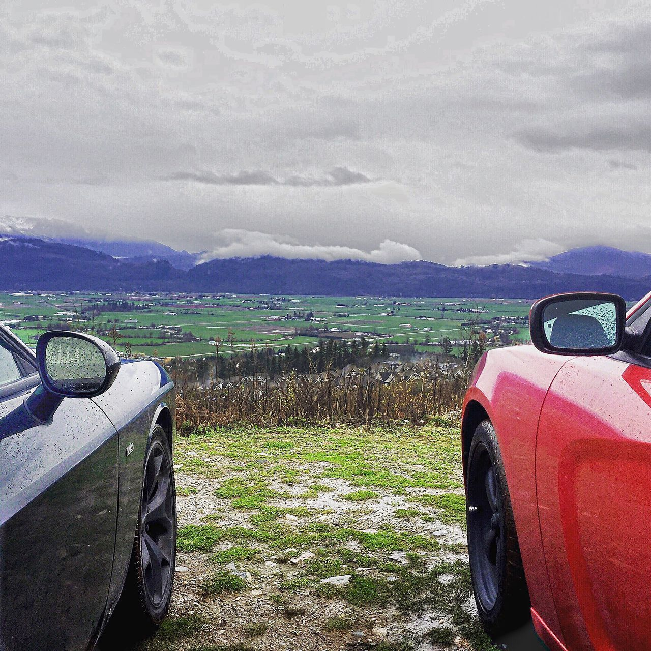 Two Mopars on top of the world Scenics Landscape Car Beauty In Nature No People Mountain Cloud - Sky Day Grass Outdoors Moparornocar Chargerfam Modernmuscle Dodgecharger Charger Weather Moparfam Mopar Rallye Sxt Dodge Mountainview Muscle Cars Mountain Range Moparlove