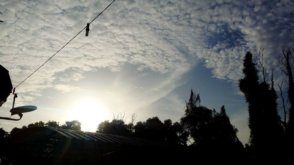 Contented_loneliness Sunrise And Clouds Sundaymorning