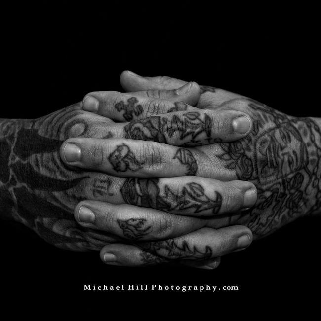 Contemplation Blackandwhite Portrait Self Portrait Tattoo Tattoos Capture The Moment
