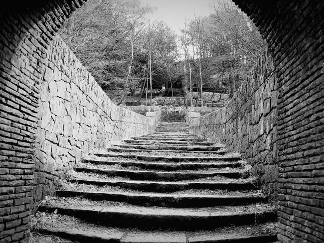 Stone Arch Forgotten Places  Steps at China Garden Rivington Bolton
