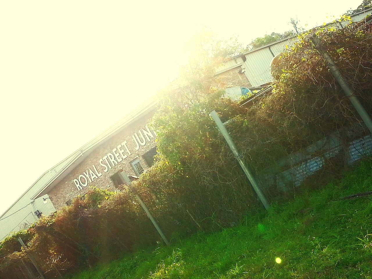 Old But Awesome Lonely Place  City Life Downtown Mobile Alabama (: Hanging Out Old Junkyard.