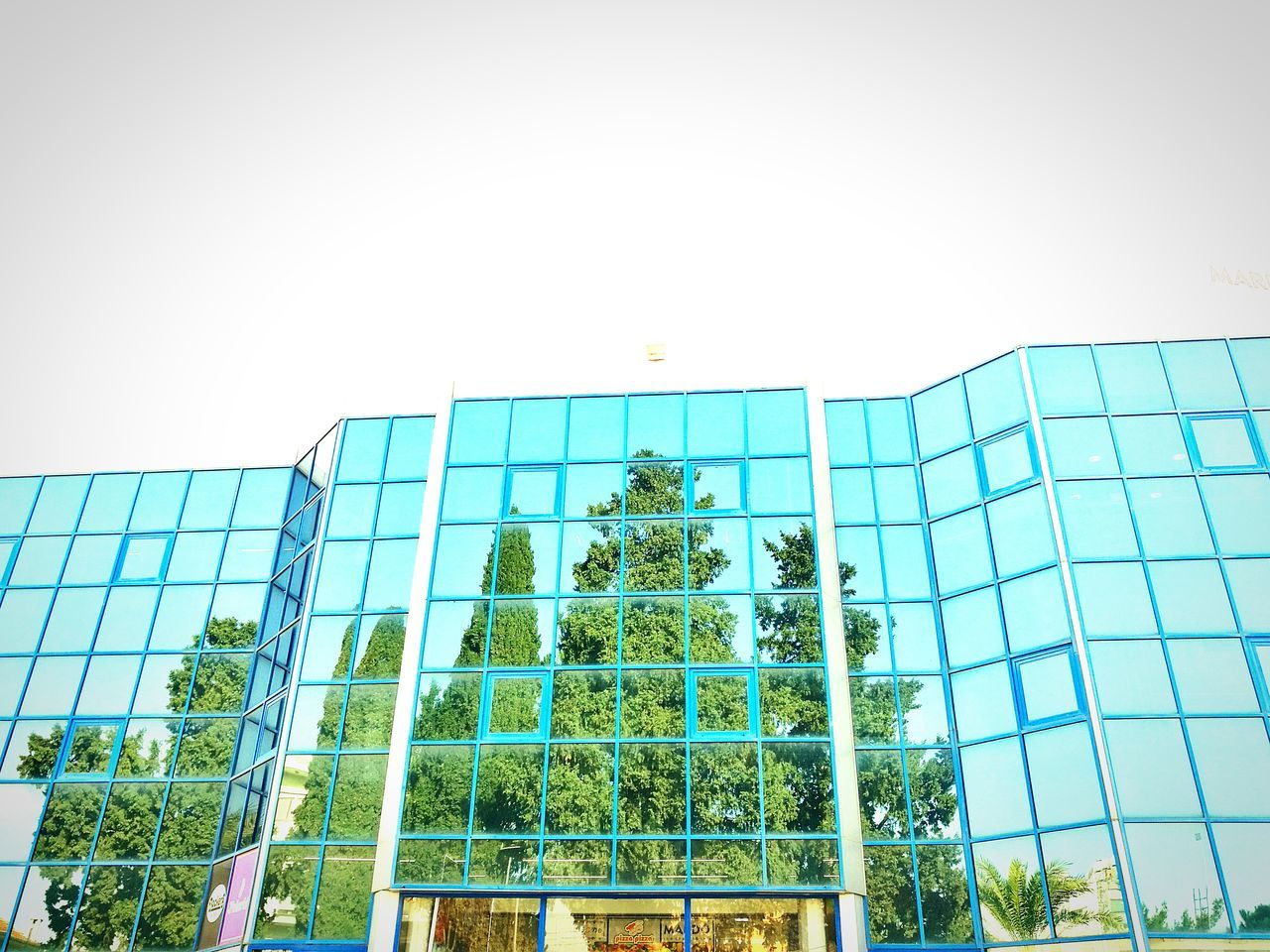 Low Angle View Modern Built Structure No People Day Architecture Building Exterior Outdoors Nicosia Lefkoşa Sky Turkey Tree