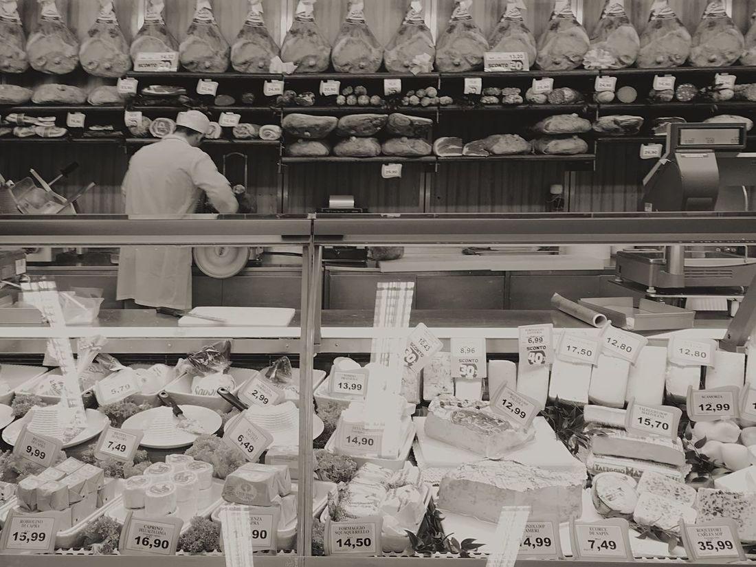 Variation Choice Arrangement Cheese Ham Supermercado Italian Supermarket Good Life Indulgence