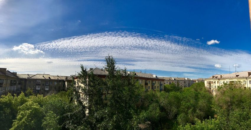 Tree Architecture Sky Built Structure Building Exterior House No People Nature Day Outdoors Cloud - Sky Blue Tranquility Scenics Beauty In Nature Home Panorama Skyporn Luxury