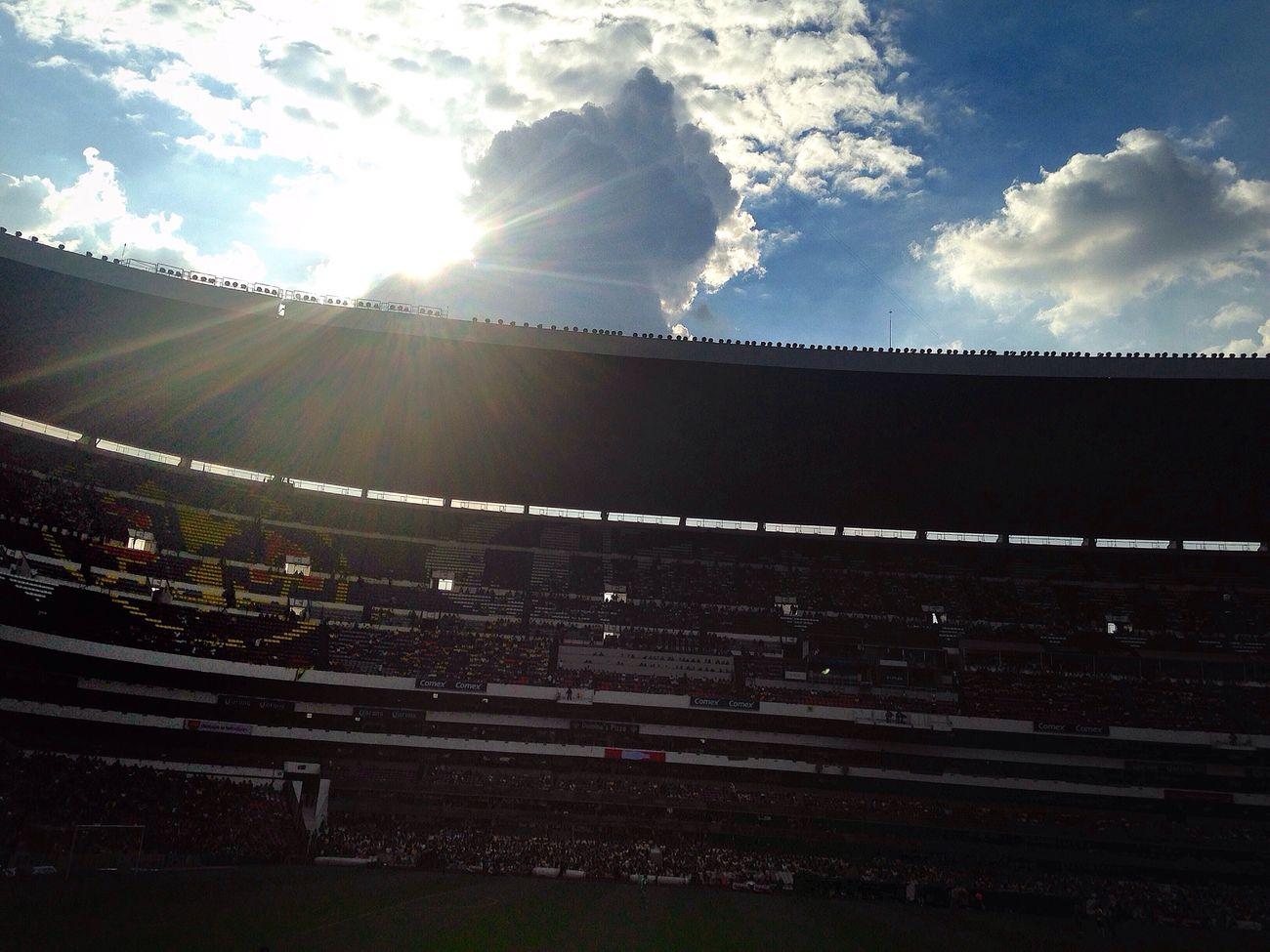 Stadium Estadioazteca Sunset Mexico City