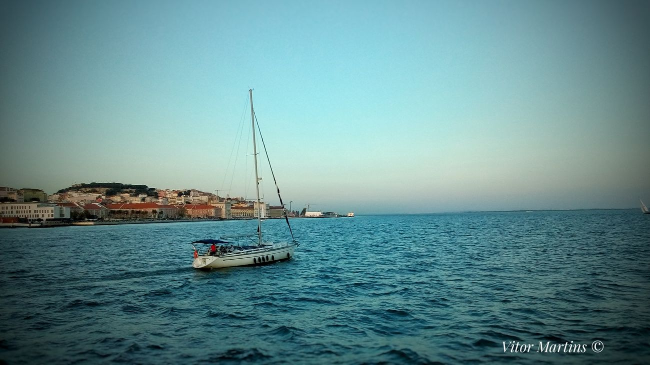 Nautical Vessel Clear Sky Sky Sailing Lisboa🇵🇹 Cityscape Lovecity  History Liboaalive Portugal Sunset The Best View