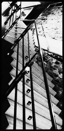 Blackandwhite Stairs & Shadows Shades Of Grey