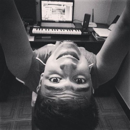 Newbeat BoringSunday Broke Studying Playingkeyboard Allofme 808bending Focusrite Red Black and white Dafuq Am I Hastagging Missedmyhomie 'sperformance Cypherversepractice