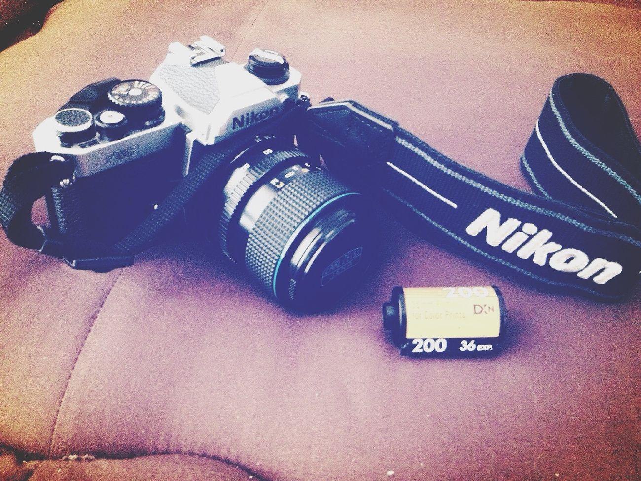 第一卷半結束,期待洗照片! Hello World Enjoying Life Everyday Education Photo Around Me About Me Nikon FM2/T