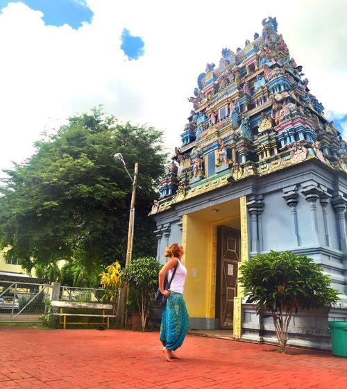 Mauritius That's Me Enjoying Life EyeEm Best Shots Holiday Life Temple