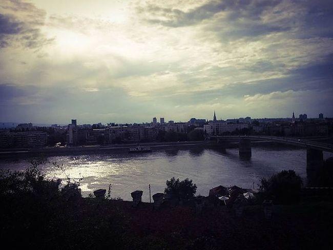 Beforetherain Sky View Photo Capture Moment Danube Novisad Colorfull Photooftheday Bridge Varadinbridge Instaphoto Instadaily Instamoment