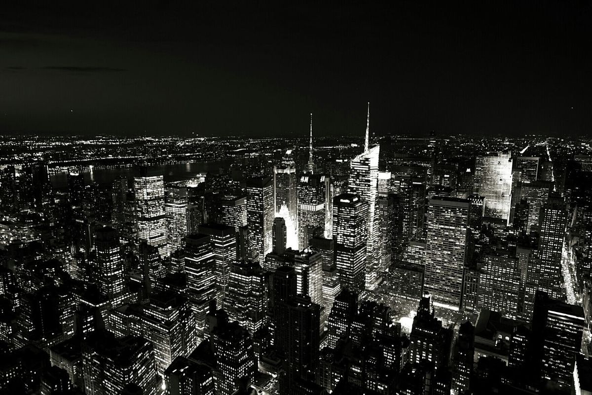 USA Photos Blackandwhite Night Lights Landscape I Love New York Landscape_Collection Cityscapes The Purist (no Edit, No Filter) I Heart New York Seeing The Sights The Best Of New York Black And White Friday