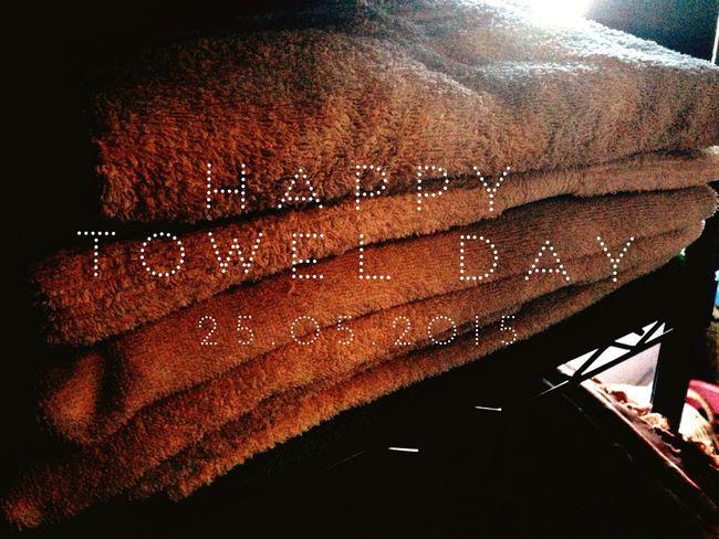 Happy Towel Day 2015 Towelday Happytowelday TheHitchhikersGuideToTheGalaxy Douglasadams