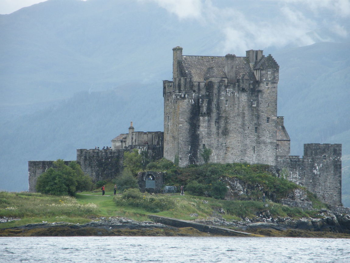 Castle Eilean Donan Eilean Donan Castle Fortress Heritage Historical Architecture Historical Building History Kyle Of Lochalsh Kyle Of Lochalsh, Scotland Loch Duich Loch Duich In The Highlands Of Scotland Scotland