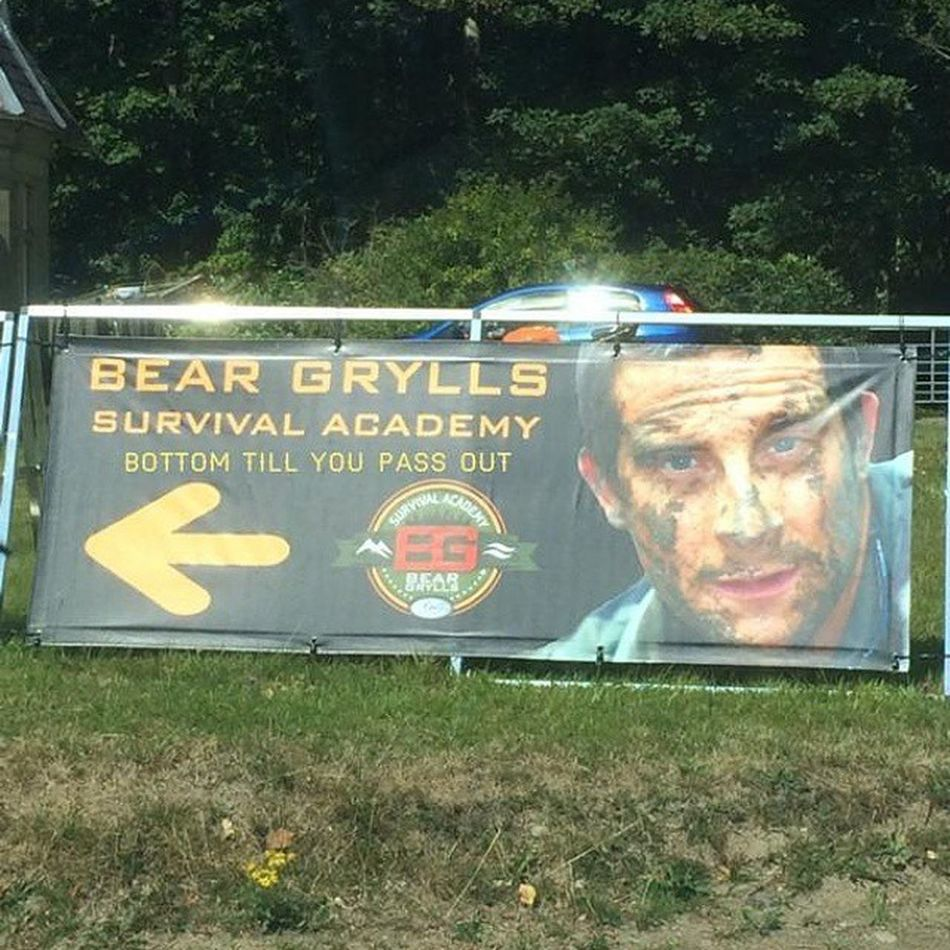 This made me laugh.. No pun intended I'm sure as saw this on my twitter feed today Joke Humour Bottom Beargrylls