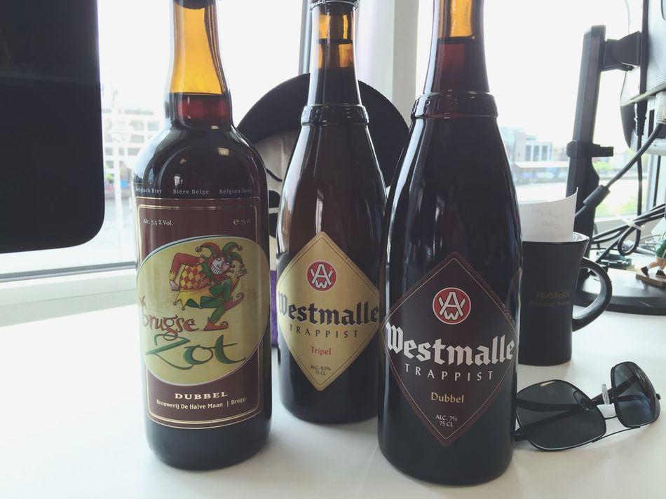 Decent haul today! Beer Belgian  Trappist