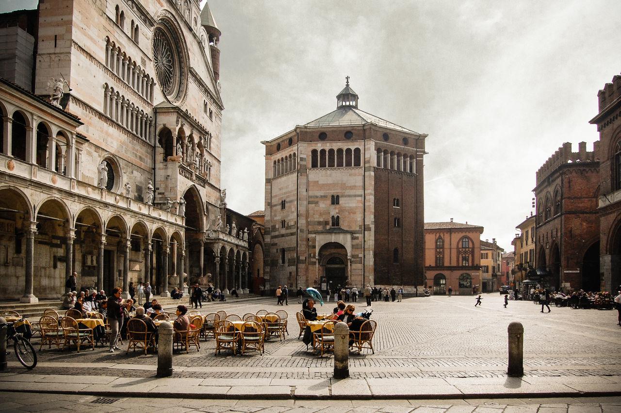 Cremona The Town Square Stradivari Italy