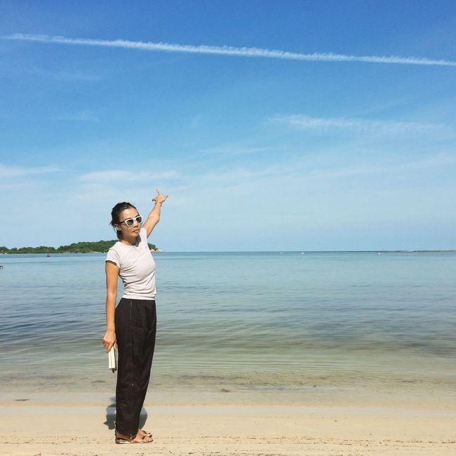 Sunny Day Kosamui Thailand LoveBeaches Beautiful Beaches Sea Sky Loveisallaround