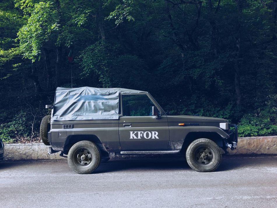Kosovo Peacekeeping Force KFOR
