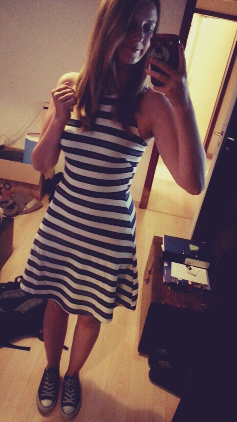 NewDress(: New Dress New Dress! Yessssssss  H&M ✌ Love It