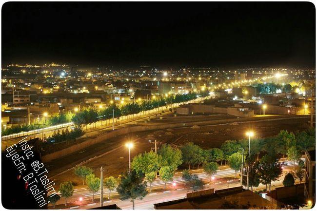 Iran Iran♥ Azarbayjan Bonab City Taslimi Canon700D Lenz 18-55 Night ایران آذربایجان شرقی بناب شهر تسلیمی کانن700دی نما شهرستان شهرستان بناب شب