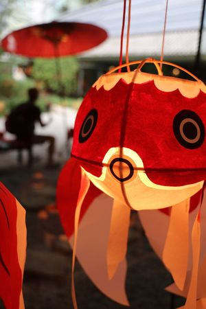 和のあかり 百段階段 雅叙園 金魚 ちょうちん Goldfish Lantern Japanese Culture Japan Photography Japan Taking Photos
