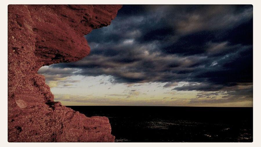 Sunset in Agde, La Conque beach... Sunset Golden Hour Beach