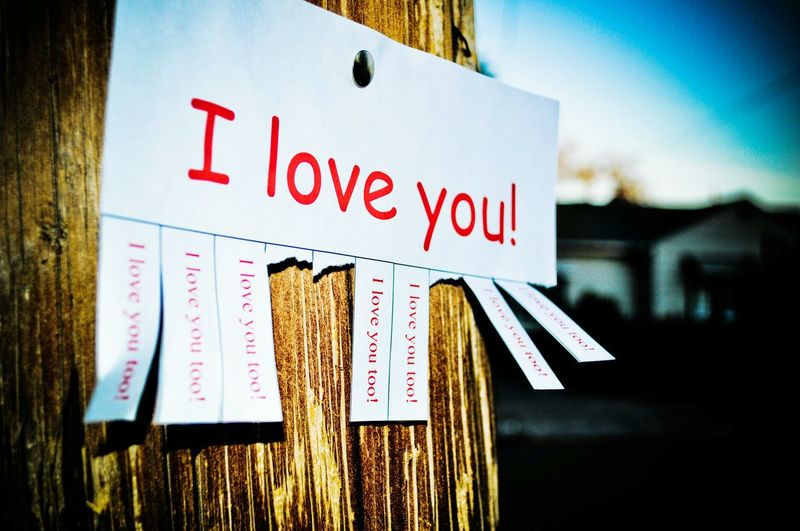 Text Outdoors Love♥