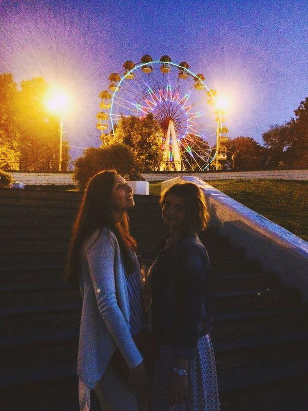 Girls Russia Night
