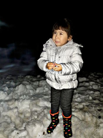 Full Length One Person Childhood Black Background Night One Boy Only Front View Child Males  Children Only Outdoors People Nature First Eyeem Photo Queen👑 Turkey Baby Love Girl 2016 EyeEm Nature Turkeyphotooftheday Türkiye Black And White Turkmenistan Tatar