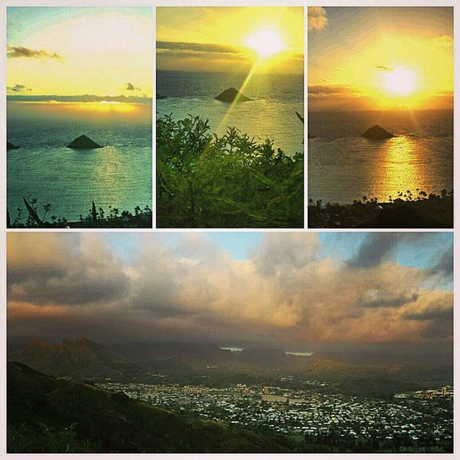 This mornings hike 3•28•15 Sunrise Hike Lanikaipillboxes Twinislands Mokes Lanikai  Kailua  967🌴4 Oahu Hawaii HiLife Luckywelivehi VentureHi Fitlife Cloudy Mylife ExploreHawaii Exerciseyoself Feeltheburn GodIsGood Latepost Koolaumountains Workout InstaFrame Samsunggalaxy4