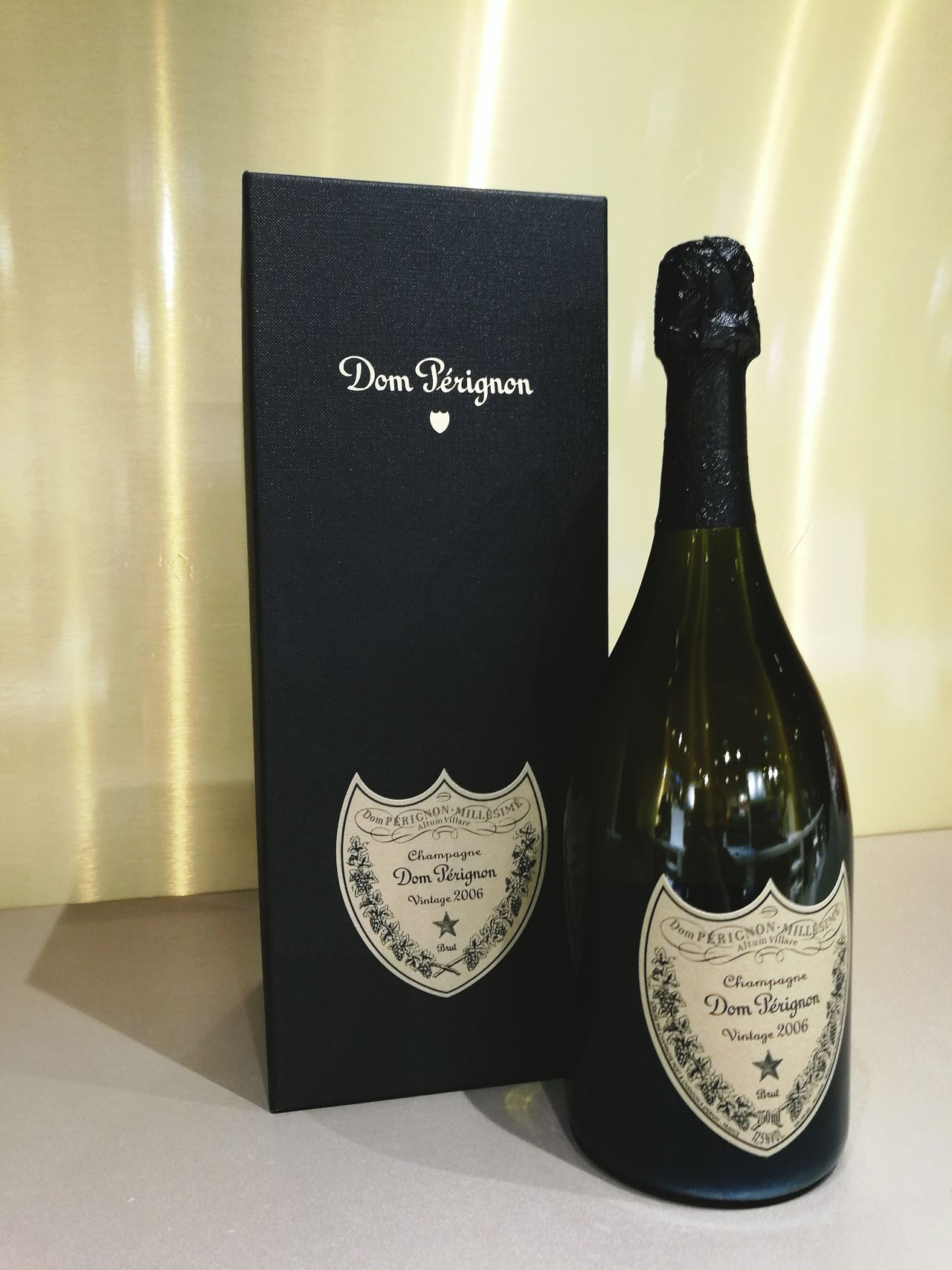 Champagne Donperignon Duty Free Shop Job Alcohol Alcohol Bottles 2006
