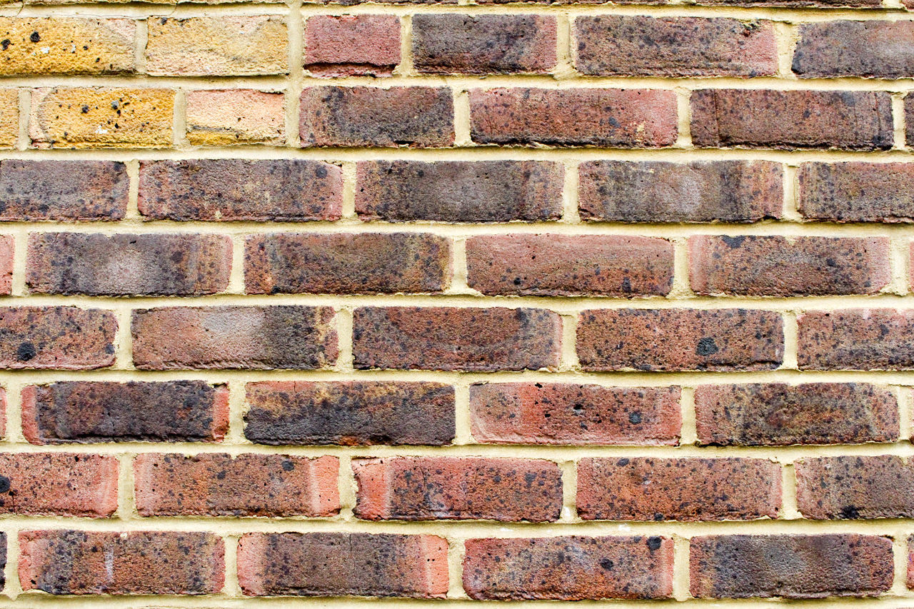 brick wall, brick, wall - building feature, full frame, backgrounds, architecture, built structure, textured, pattern, day, no people, building exterior, outdoors, close-up