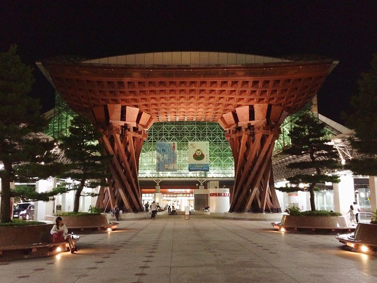 金沢駅 駅 夜 建築物 Kanazawa Station Kanazawa Ishikawa-ken Kanazawa,japan Station Night Night Lights Nightphotography Night Photography Night View Architecture Architecture_collection