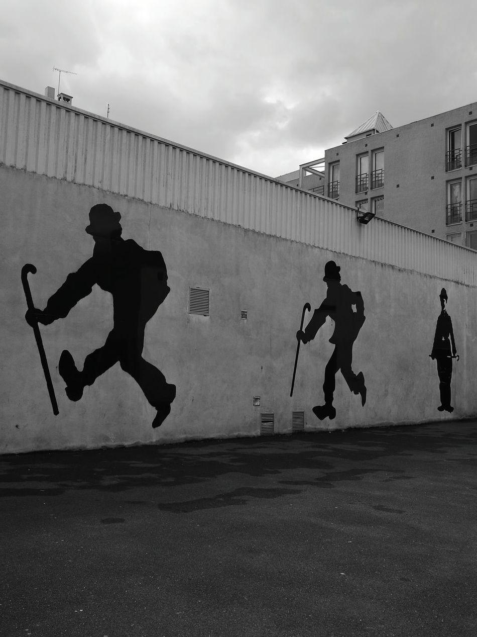 Charlie Chaplin Adult Men People Outdoors Day EyeEmBestPics EyeEm Paris, France  ParisianLifestyle Paris ❤