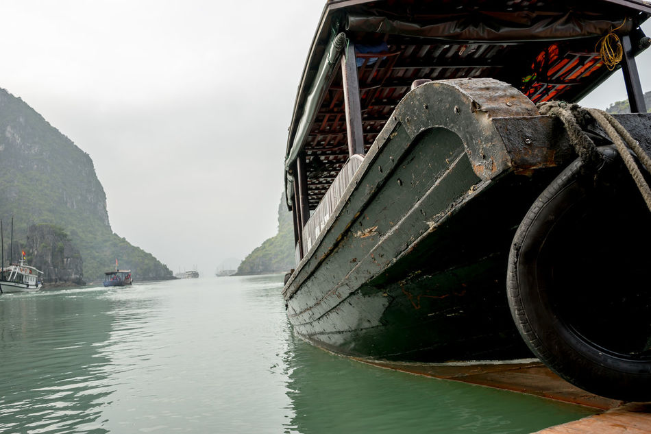 Beautiful stock photos of vietnam, Beauty In Nature, Boat, Day, Mode Of Transport