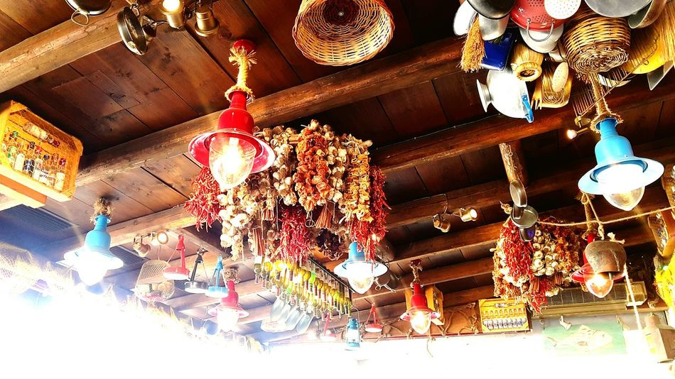 Decoration Illuminated Hanging Lantern Lighting Equipment Low Angle View Traditional Festival No People Indoors  Greektavern Tavern  Cultures Fishermanvillage Fishermenvillage Fishermansvillage Fishermancottage Fisherman's Village Fishermanslife Fisherman's Life Architecture Built Structure Travel Destinations Building Exterior Traditional Traditional Culture