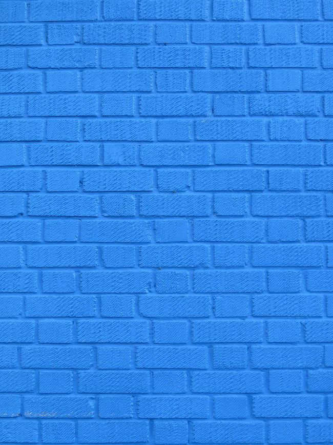 Blue Backgrounds Full Frame Textured  Purple Contrasts Stone Material No People Vibrant Color Blue Color Conformity EyeEm Best Shots - Architecture Architecture Brickwork  Bricks Brick Wall Brick Work Repetition In A Row Blue Color Man Made Object Geometric Shape Brick Textured  Detail