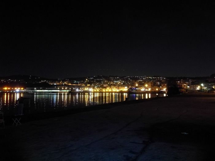 Pozzuoli by night