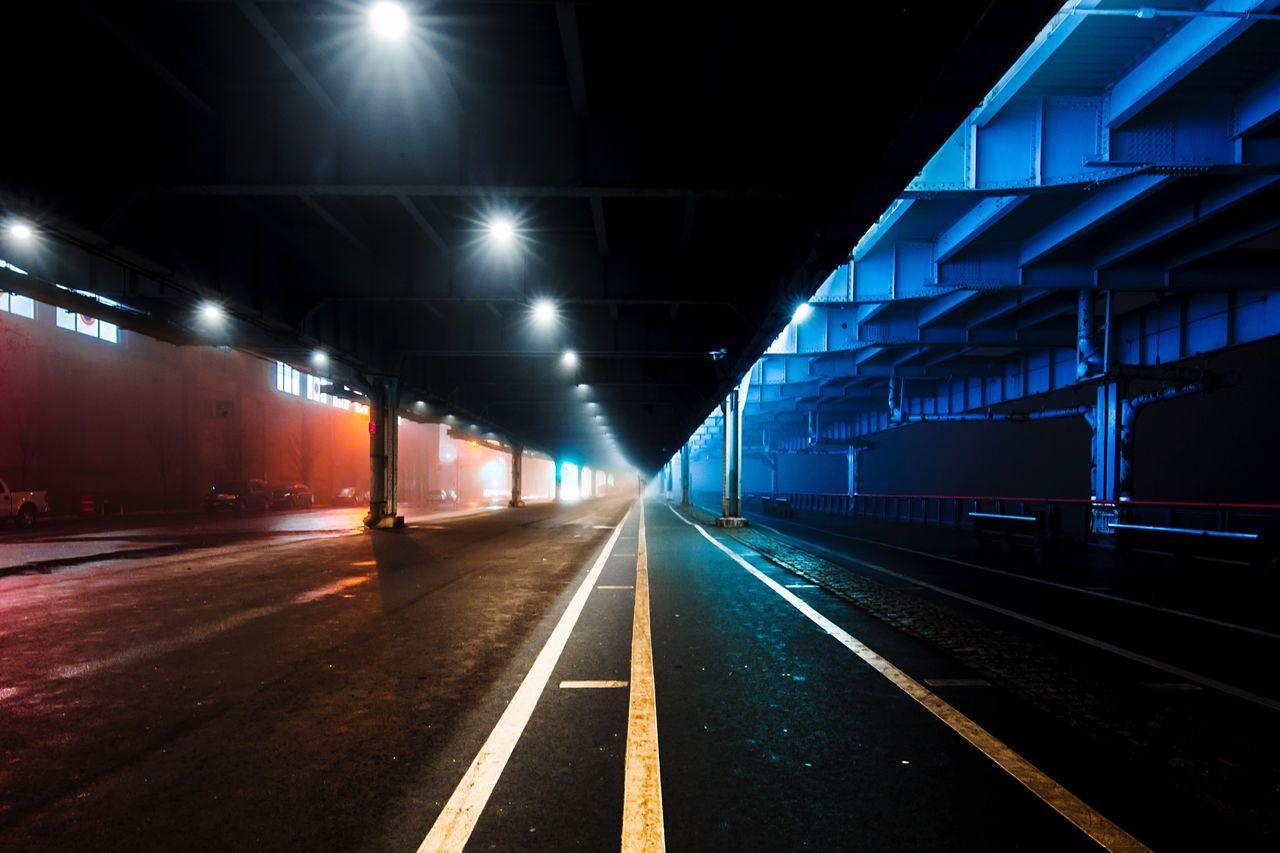NYC Night Long Exposure New York City