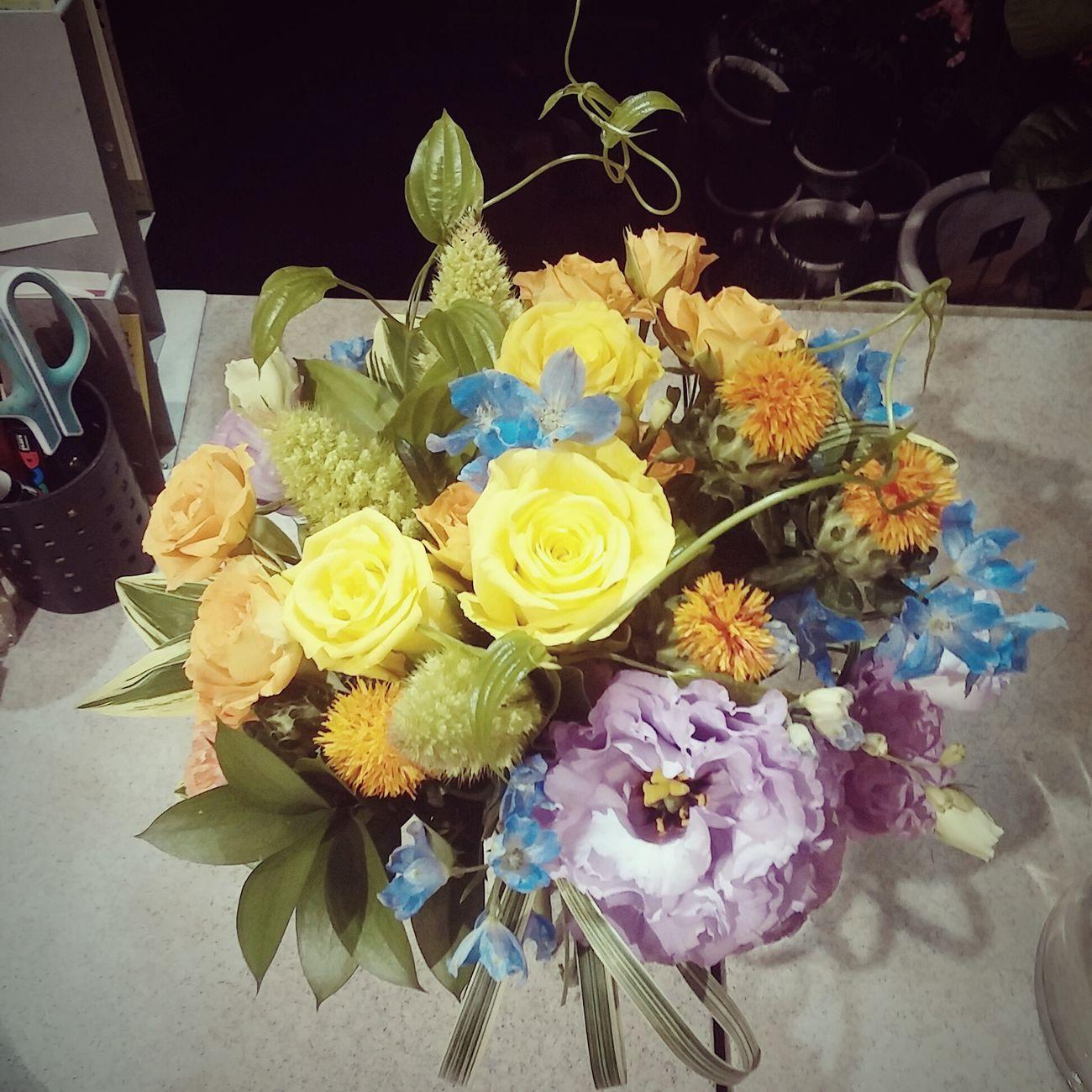 My Hobby Flower 花束 ラウンドブーケ