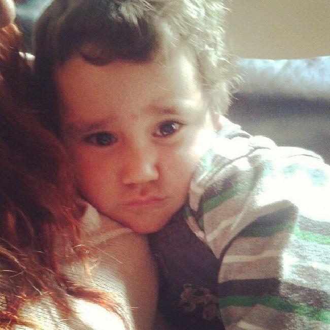 agu rico♡ la madrina lo hizo dormir♥! Baby Ternura Agus Te amo