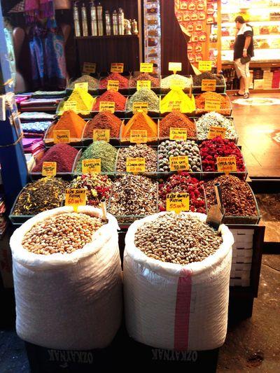 Spices Turkey Istanbul Market