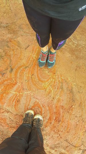On A Hike Nature Clay Hills Landformations Rings Of Life On The Ground Put Your Foot In So Cool Beautiful Nature