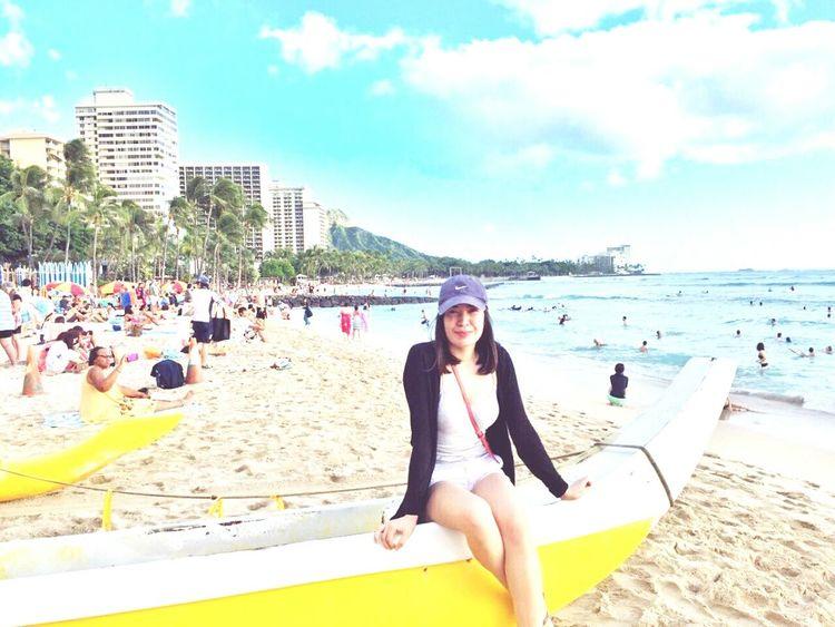 Go to Hawaii 🎶 Hawaii 🎶 Waikiki Beach Honolulu, Hawaii Travel