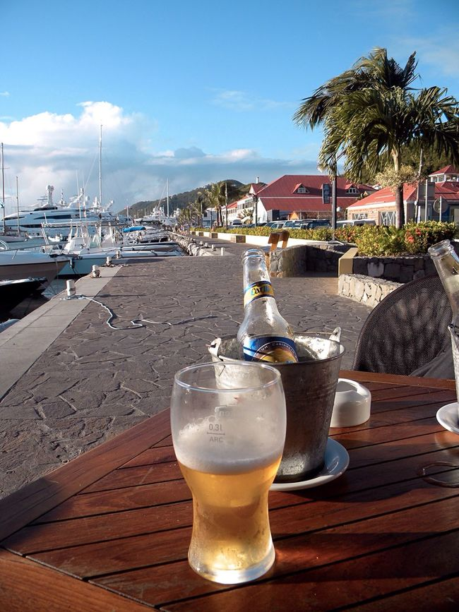 Enjoying Life St.Barths Take A Break Sit Down And Relax Caribbean At The Waterfront Gustavia
